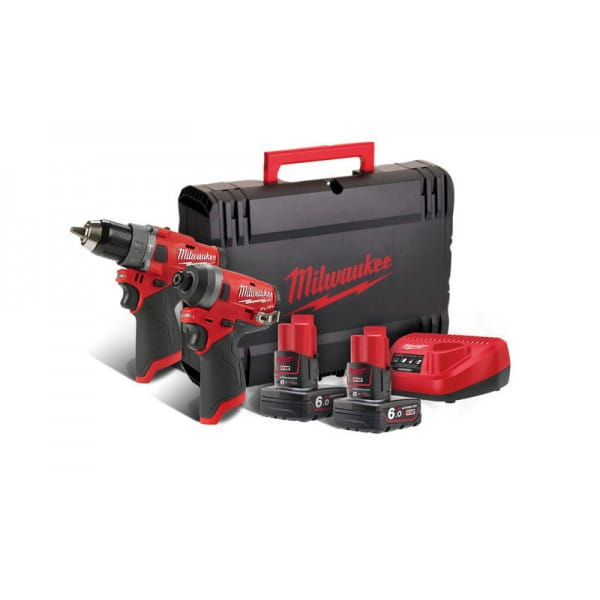 Набор инструментов Milwaukee M12 FUEL FPP2A-602X