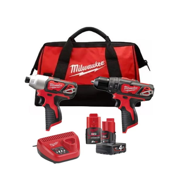 Набор инструментов Milwaukee M12 BPP2B-421C