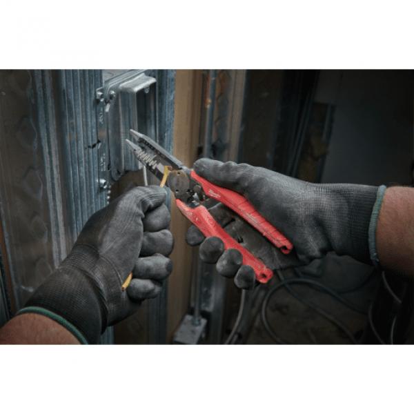 Комбинированные кусачки для зачистки проводов Milwaukee 5 в 1