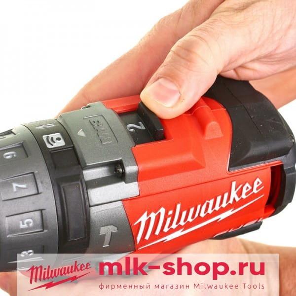 Аккумуляторная ударная дрель-шуруповертMilwaukee M18 FUEL ONEPD-0X ONE-KEY 4933451910