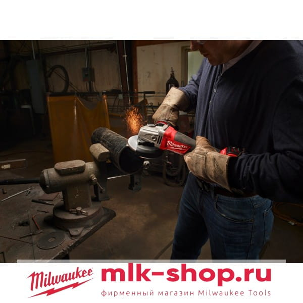 Аккумуляторная угловая шлифовальная машина (УШМ, Болгарка)Milwaukee М18 FUEL CAG115X-502X