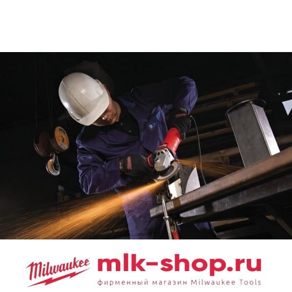 Угловая шлифовальная машина (УШМ, Болгарка) Milwaukee AGV 17-125 INOX