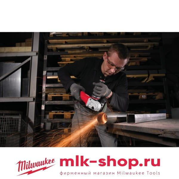 Угловая шлифовальная машина (УШМ, Болгарка) Milwaukee AGV 12-125 XPD Kit