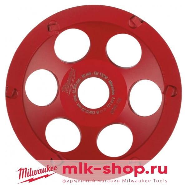 Алмазная чашка Milwaukee DCWS 125 (1шт)
