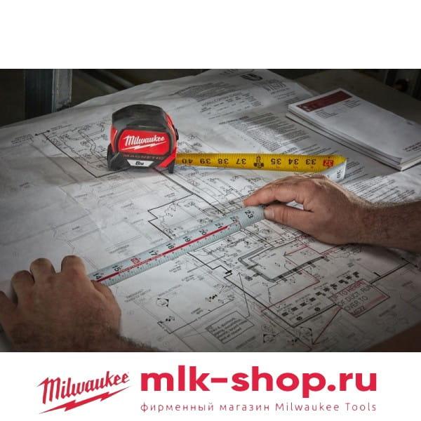 Рулетка Milwaukee Magnetic Tape Premium 8 м