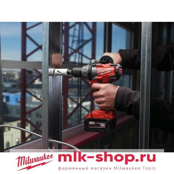 Аккумуляторная ударная дрель-шуруповерт Milwaukee M18 FUEL CPD-502C 4933448145 (4933448821)