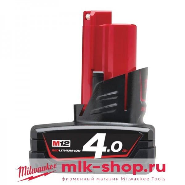 Аккумулятор Milwaukee M12 B4 4.0 Ач