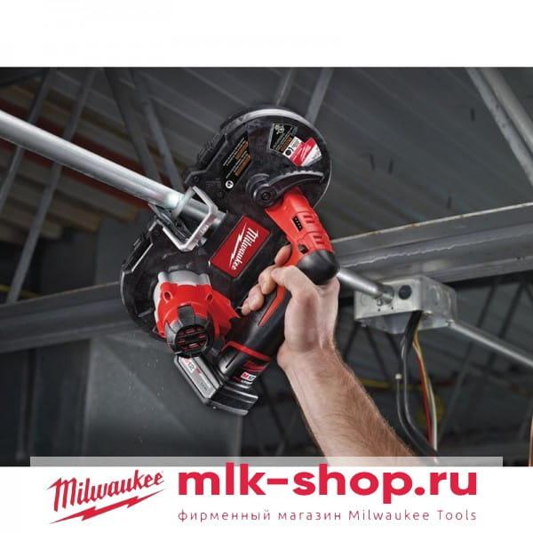 Аккумуляторная ленточная пила Milwaukee M12 BS-0