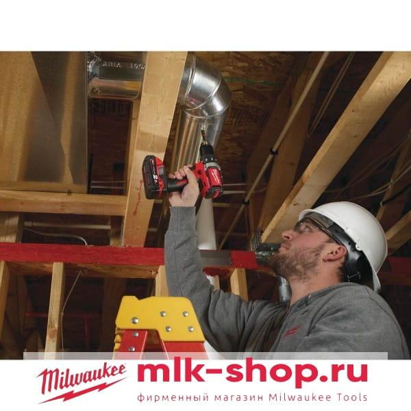Аккумуляторная дрель-шуруповерт Milwaukee M18 BLDD-202C