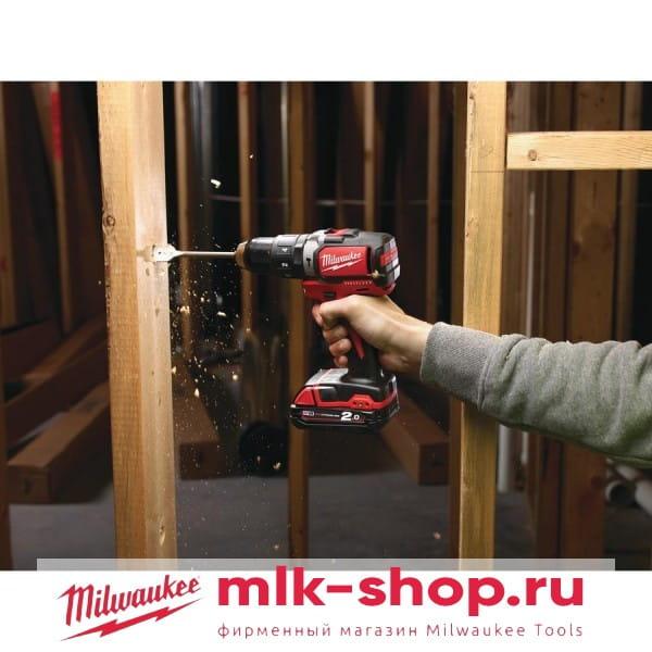 Аккумуляторная ударная дрель-шуруповерт Milwaukee M18 BLPD-0