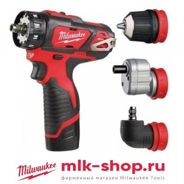 M12 BDDXKIT-202X 4933447129 в фирменном магазине Milwaukee