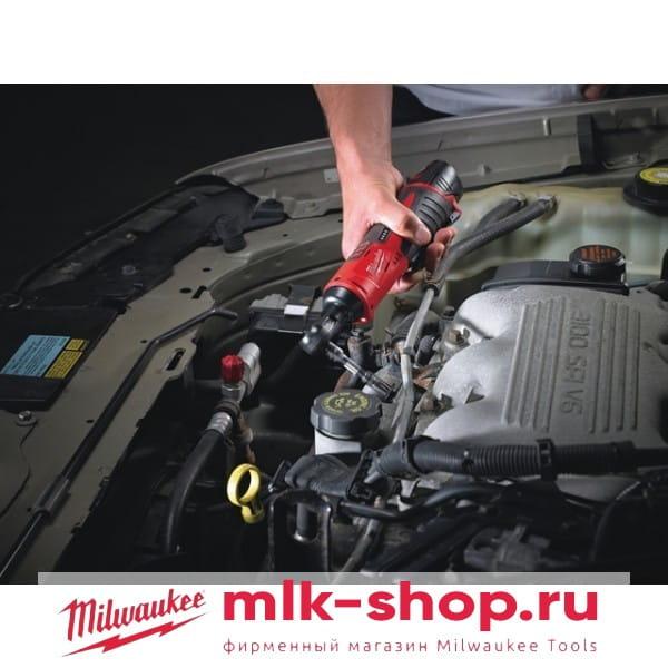 Аккумуляторный торцевый гайковерт 1/4 дюйма Milwaukee M12 IR-21B