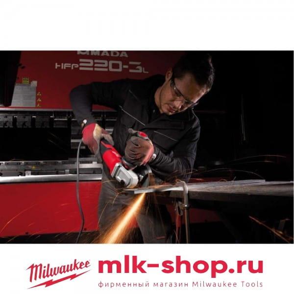 Угловая шлифовальная машина (УШМ, Болгарка) Milwaukee AGV 15-125 XE