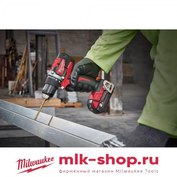 Аккумуляторная дрель-шуруповерт Milwaukee M18 CBLDD-202C