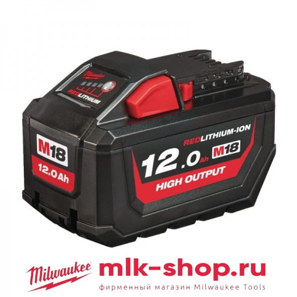 M18 HB12 12.0 Ач 4932464260 в фирменном магазине Milwaukee