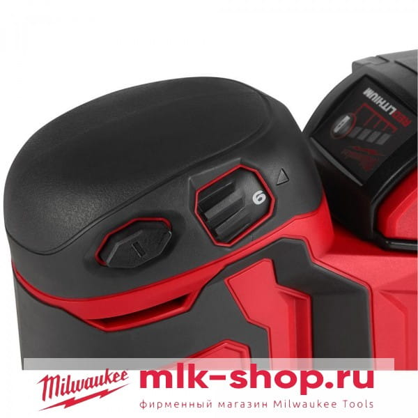 Аккумуляторная эксцентриковая шлифовальная машина Milwaukee M18 BOS125-502B 4933464230, 4933464229