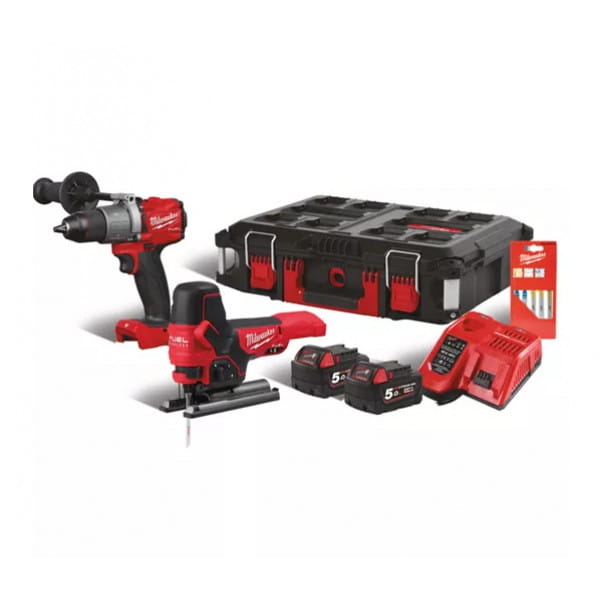 Набор инструментов Milwaukee M18 FUEL FPP2F2-502P