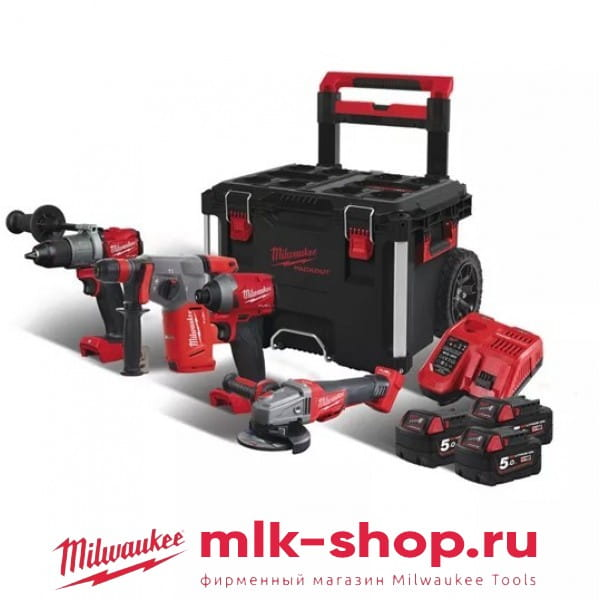 Набор инструментов Milwaukee M18 FUEL FPP4B-503P