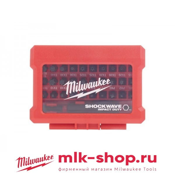Набор бит Milwaukee Shockwave