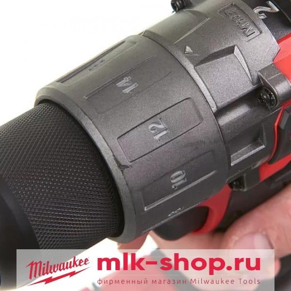 Аккумуляторная дрель-шуруповерт Milwaukee M18 FUEL FDD2-0X
