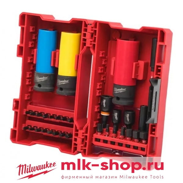 Набор бит Milwaukee Shockwave Imapct Duty Bit Set (31шт)