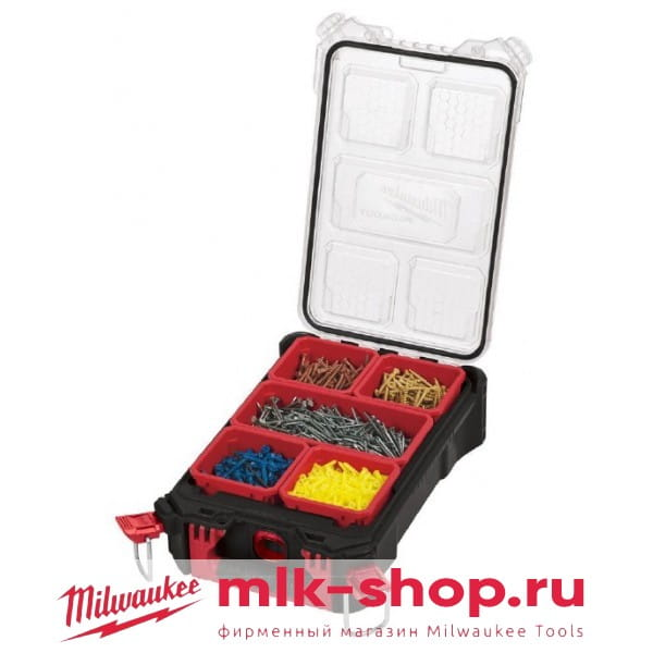 Компактный органайзер Milwaukee PACKOUT