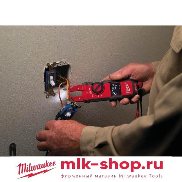 Вилочные токовые клещи Milwaukee 2205-40