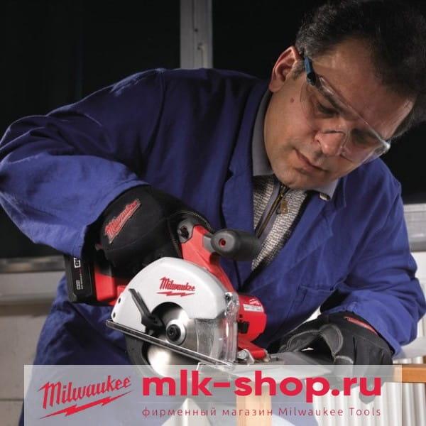 Аккумуляторная циркулярная пила по металлу Milwaukee HD18 MS-0