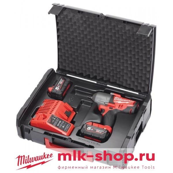 Аккумуляторный импульсный гайковерт Milwaukee M18 FUEL CHIWF 12-502X