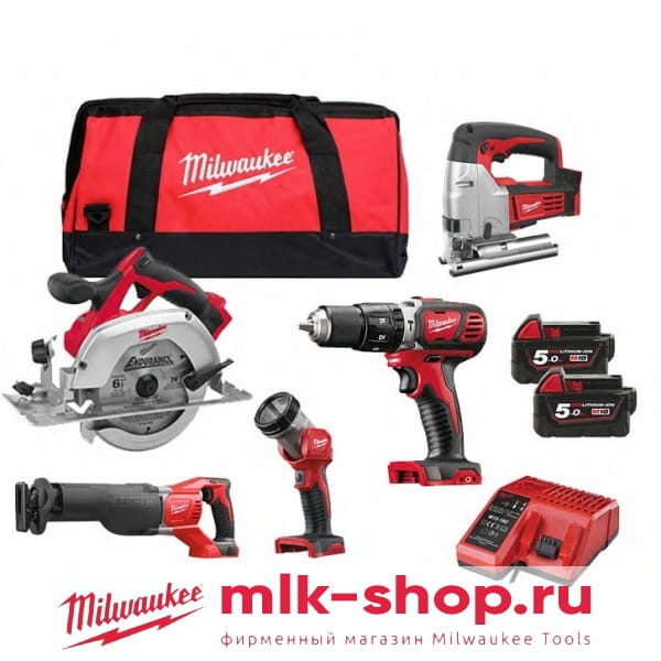 Набор инструментов Milwaukee M18 PP6D-502B