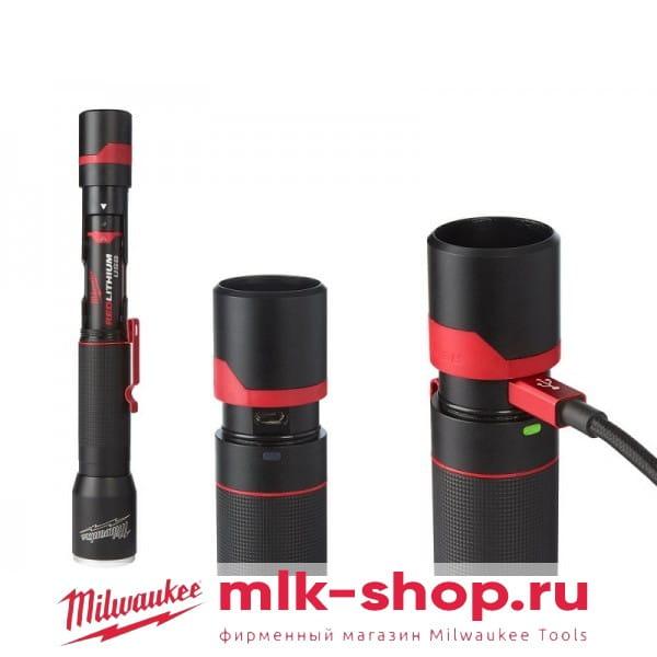 Компактный фонарь Milwaukee USB L4 MLED-201