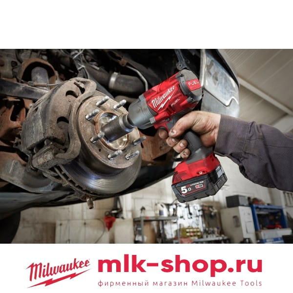 Аккумуляторный импульсный гайковерт Milwaukee M18 FUEL FHIWF12-0X