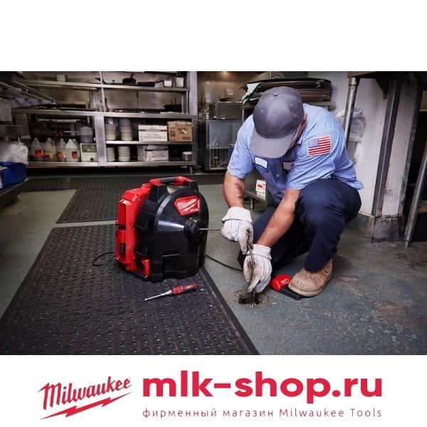 Аккумуляторная ранцевая прочистная машина Milwaukee M18 FUEL FFSDC16-502
