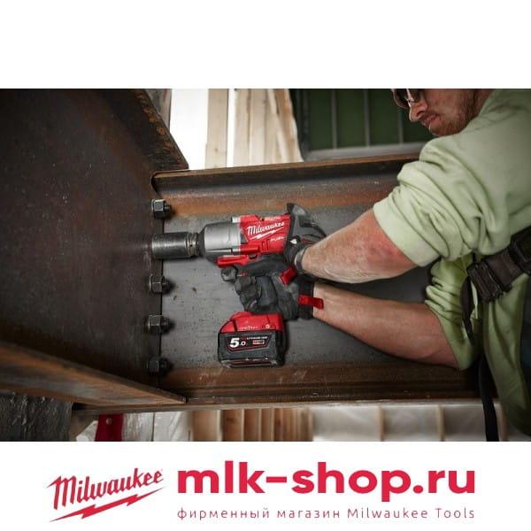 Аккумуляторный импульсный гайковерт Milwaukee M18 FUEL ONEFHIWF12-502X ONE-KEY