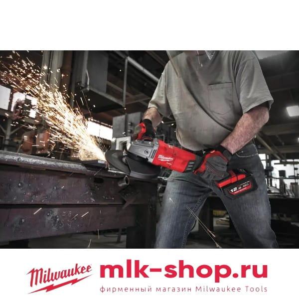 Аккумуляторная угловая шлифовальная машина (УШМ, Болгарка) Milwaukee M18 FUEL FLAG180XPDB-0