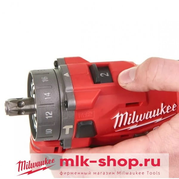 Аккумуляторная ударная дрель субкомпактная Milwaukee M12 FUEL FPDX-202X