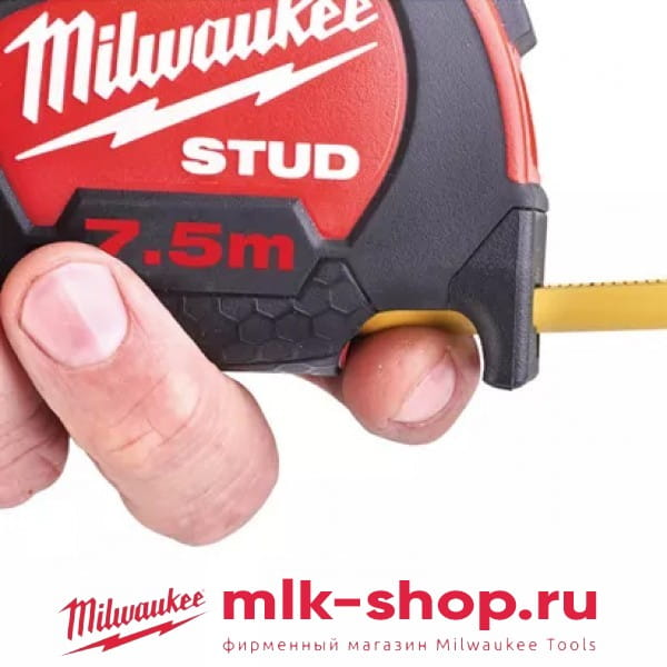 Рулетка Milwaukee STUD 7.5м