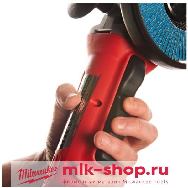 Аккумуляторная угловая шлифовальная машина (УШМ, Болгарка) Milwaukee HD18 AG-125-0