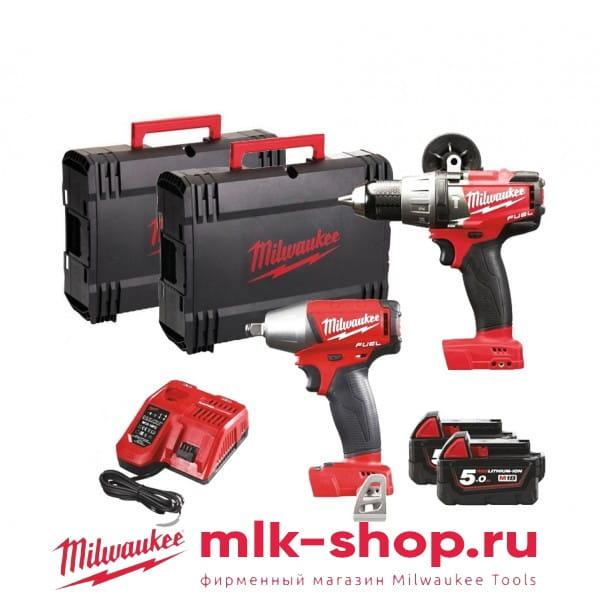 M18 FPP2G-502X Set Power Pack IN2 4933459035 в фирменном магазине Milwaukee
