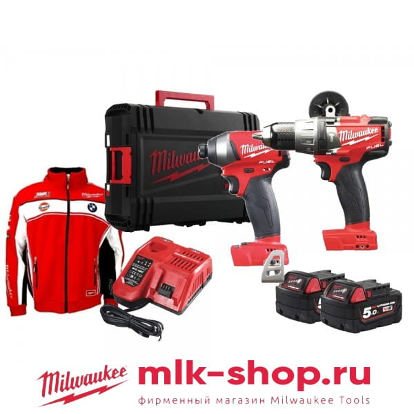 Набор инструментов Milwaukee M18 FPP2F-502X Set Power Pack IN2
