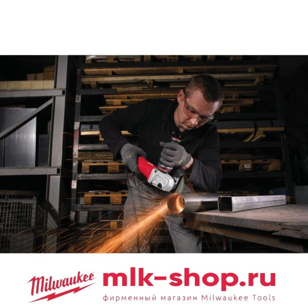Угловая шлифовальная машина (УШМ, Болгарка) Milwaukee AGV 12-125 XPD