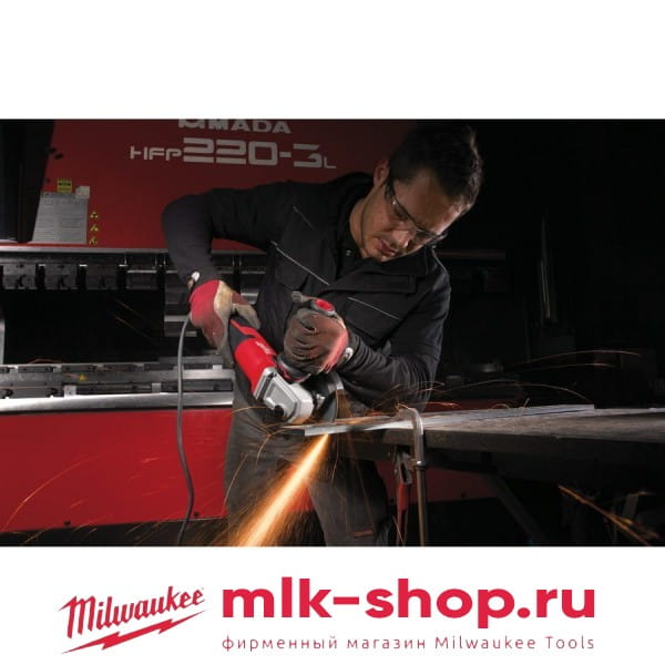 Угловая шлифовальная машина (УШМ, Болгарка) Milwaukee AGV 15-125 XC