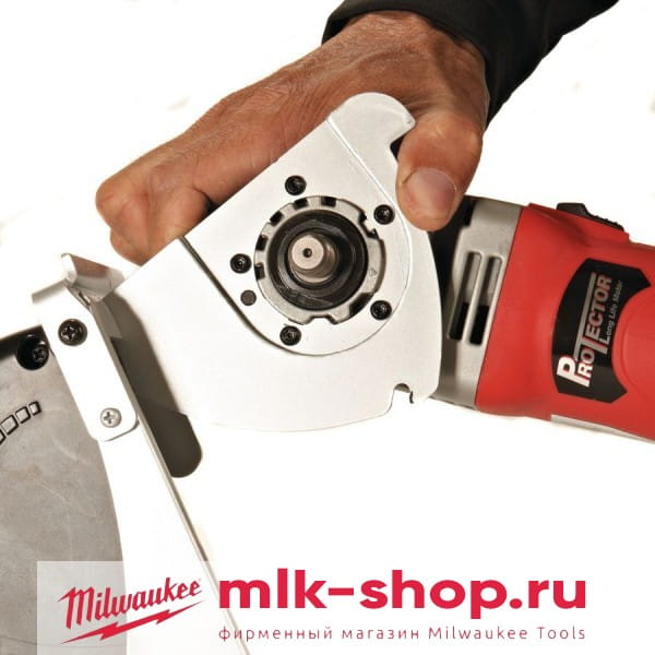 Болгарка (УШМ) с системой пылеудаления для резки Milwaukee AGV 15-125 XС DEC-SET