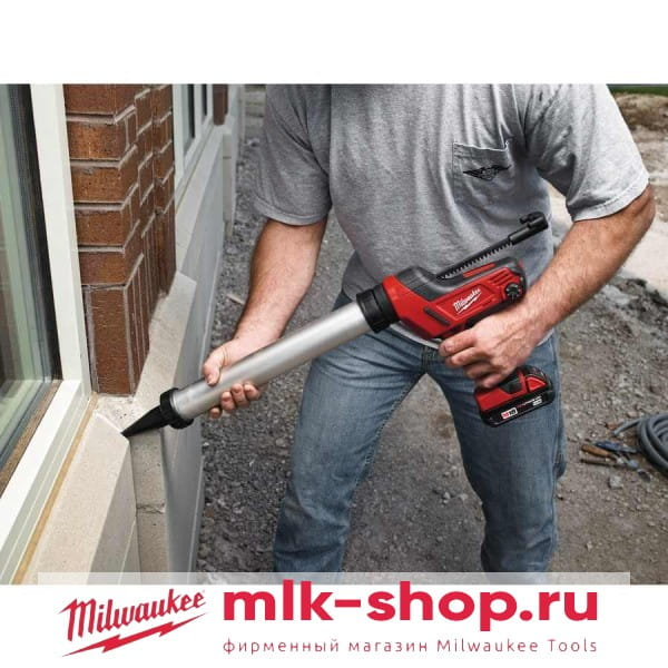 Аккумуляторный клеевой пистолет Milwaukee C18 PCG/600A-201B