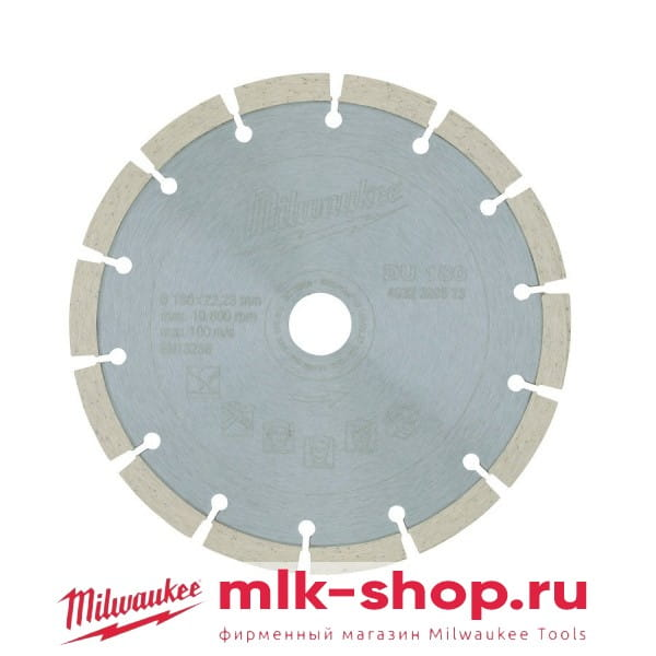 DU 180 мм 4932399523 в фирменном магазине Milwaukee