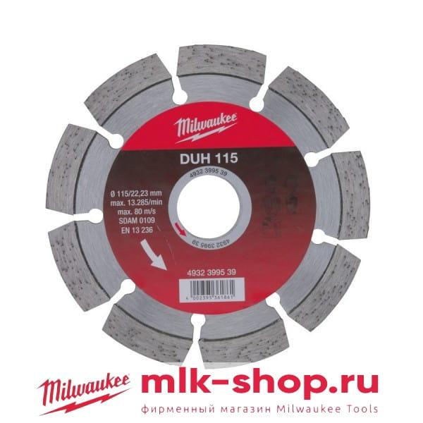 DUH 115 мм 4932399539 в фирменном магазине Milwaukee