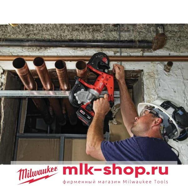 Аккумуляторная ленточная пила Milwaukee HD18 BS-402С