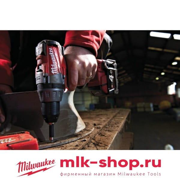 Аккумуляторная дрель-шуруповерт Milwaukee HD18 DD