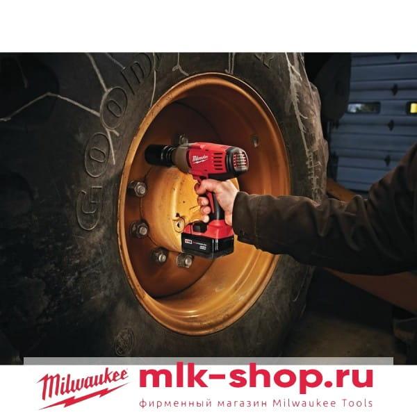 Аккумуляторный импульсный гайковерт Milwaukee HD18 HIW-402С