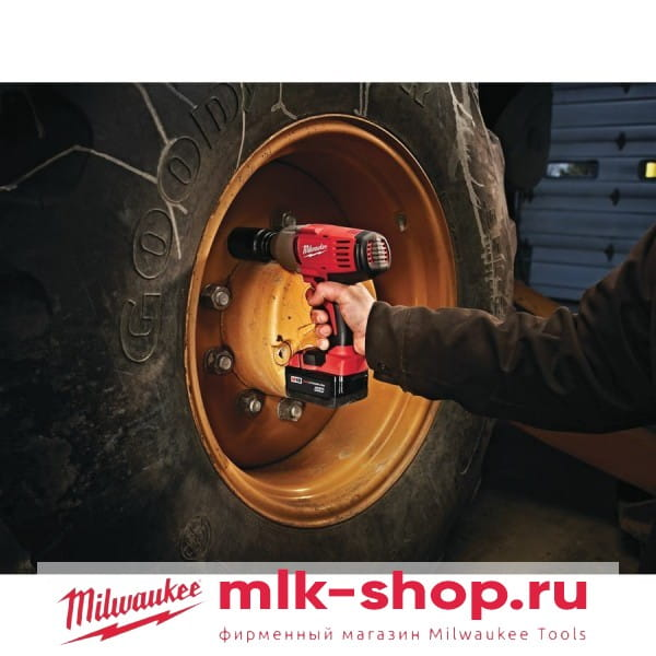 Аккумуляторный импульсный гайковерт Milwaukee HD18 HIW